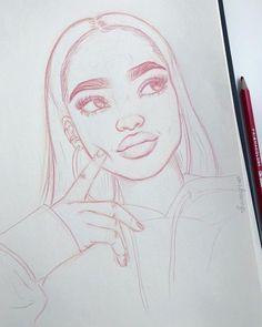 Zeichnungen как обработать фото к. - Zeichnungen как обработать фото к… Zeichnungen как обработать фото красивые с Tumblr Drawings, Cool Art Drawings, Pencil Art Drawings, Beautiful Drawings, Easy Drawings, Cute People Drawings, Tumblr Sketches, Drawing People Faces, Person Drawing