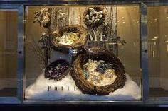 rustic christmas window displays - Google Search