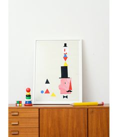 Children's room  - Poster by Moa Hoff - Via Fine Little Day