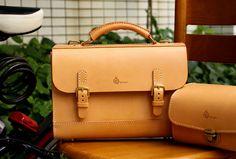 Обезьяна ручной работы кожаная сумка ретро британский сумки двойного назначения ...
