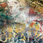 Ella and Viv Paper Company - Graffiti Collection - 12 x 12 Paper - Boombox
