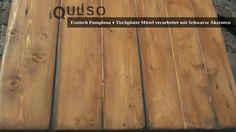 Hardwood Floors, Flooring, Pamplona, House Styles, Old Wood, Cottage Chic, Dinner Table, Essen, Wood Floor Tiles
