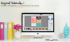 In this tutorial you will learn how to use our Digital Project Life Templates in Photoshop Elements. Find out how to add photos and cards, make a clipping ma. Digital Project Life, Project Life Scrapbook, Project Life Layouts, Element Project, Palette Projects, Becky Higgins, Life App, Hobby Photography, Photography Tutorials