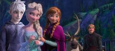 """Jack's face looks like """"remind me to not get on her bad side"""" and elsa's says """"told ya"""""""