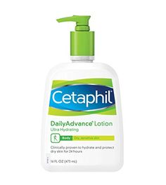 Cetaphil Daily Advance Lotion, Ultra Hydrating, 16 Ounce ...