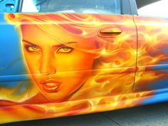 Image detail for -airbrush car