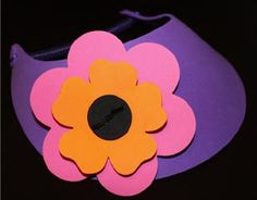 How to Make Flower Foam Visors