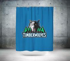 Minnesota Timberwolves NBA Shower Curtain