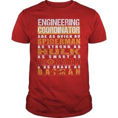 ENGINEERING COORDINATOR T-Shirts, Hoodies. SHOPPING NOW ==► https://www.sunfrog.com/LifeStyle/ENGINEERING-COORDINATOR-112257595-Red-Guys.html?id=41382