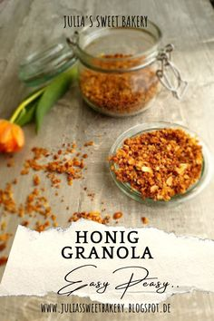 Sweet Bakery, Granola, Smoothies, Yummy Food, Homemade, Cooking, Blog, Recipes, Kitchens