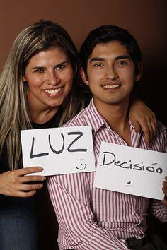 Light, Karen Roman, Lic. En Comunicación, Canal 53Monterrey, México  Decision , Josue Hernández, Optometrista, SMQ, Monterrey, México