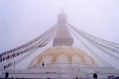 Nepal - Kathmandu, Bodhnath, stupa