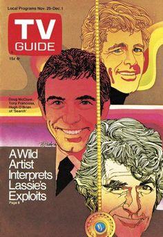For Sale November 1972 Tv Guide Magazine 524 Alistair Cooke 526 Doug Mcclure Tony Franciosa Bob Peak Cover Artwork Jim Sharpe Back Issue Emorys Memories