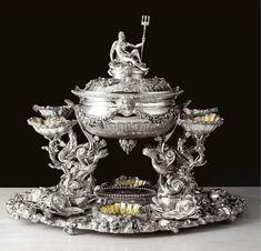 """justcallmegrace: """"George III silver """" #SterlingSilverTableware"""