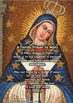 Family Prayer: Mary