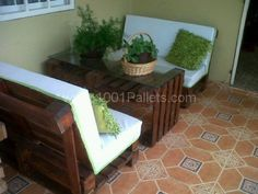 mi terraza 600x450 My first pallet projects in pallet furniture with pallet furniture