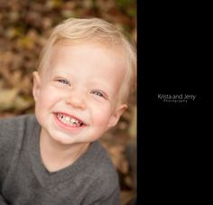 Such a happy little guy!  #KristaandJerryPhotography #PortraitPhotographer #ChildPortrait #Autumn #AutumnPortrait #Leaves #Joy #Fonthill #BucksCounty #BucksCountyPortraitPhotographer