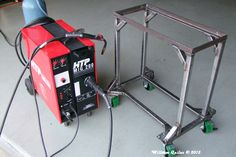 4x6 metal bandsaw stand/base and mods ...
