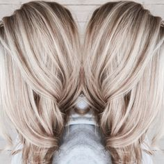 ideas for hair color blonde platinum balayage haircuts - Hair Colors Blonde Ideen Blonde Beauty, Hair Beauty, Hair Color Balayage, Blonde Fall Hair Color, Blonde Hair Fall 2018, Ombre Hair, Blonde Hair With Dark Highlights, Blonde Hair Lowlights, Dark Hair