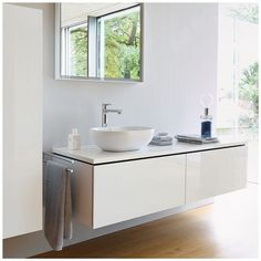 Duravit L-Cube Bathroom Furniture Collection available soon