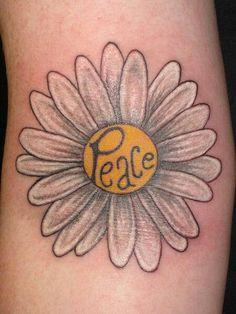 Peace daisy