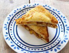 Recept voor wentelteefjes met appel en kaneel