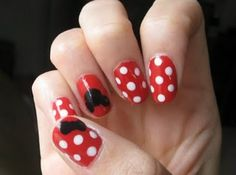 Mickey Mouse Nails!