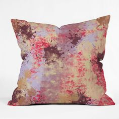 Amy Smith Sweet Grunge Throw Pillow  DenyDesigns