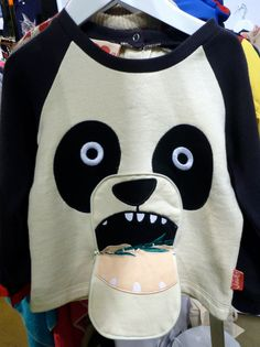 There is also a growing trend for Panda prints and decoration, here from Tootsa MacGinty for kidswear fall 2014