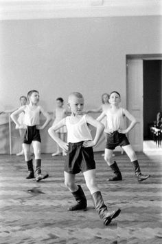 Danse de garçons