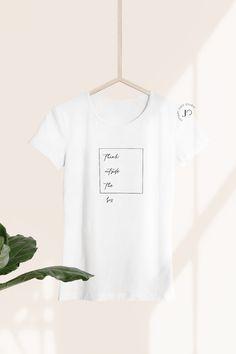 """Think outside the box."" A minimalist design by JuniperOats Studio. Source by juniperoats shirt designs Minimalist Wardrobe, Minimalist Interior, Minimalist Style, Minimalist Design, Best T Shirt Designs, Tee Shirt Designs, Shirt Logo Design, Clothing Photography, Tshirt Photography"