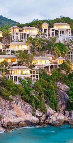Villa it up in Ko Samui, #Thailand.
