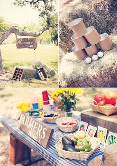 Vintage Inspired Country Fair Kid's Party  County Fair Party Tori Johnso PR thestoribook.com/   {Via Mostess With the Mostess}