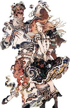 The Art Of Animation, Akiya-Kageichi - . Pretty Art, Cool Artwork, Japanese Art, Art Inspo, Painting & Drawing, Amazing Art, Art Reference, Character Art, Fantasy Art