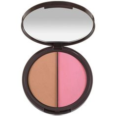 tarte Power Couple Ac Blush and Bronzer Duo – Limited Edition ($30) ❤ liked on Polyvore featuring beauty products, makeup, cheek makeup, blush, pink, tarte, mineral blush and tarte blush