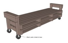Ana White   Build a Pallet Sofa with Tacoma Perry   Free and Easy DIY Project and Furniture Plans