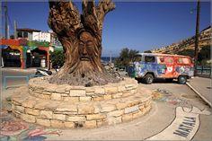 Μάταλα - matala, greece, crete, matala beach festival, the hippie vibe is still there!
