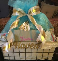 Baby Haven's gift basket