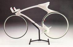 Zero Bike. A concept design by Makota Makita and Hiroshi Tsuzaki, who were  students at Los Angeles Art Center College of Design in 1988.