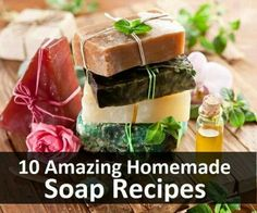 Home made soap