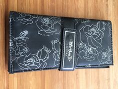 Kat von D Sephora Kat Eye eyeshadow brushes with case.  Barely used but the sticks have some wear.  $42