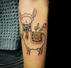 alpaca tattoo | Sunama