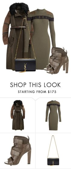 """Untitled #524"" by piinkdreamss ❤ liked on Polyvore featuring Belstaff, Alexander Wang, Yves Saint Laurent, women's clothing, women, female, woman, misses and juniors"