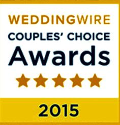 "Weddingwire ""Couples Choice  Awards 2015"""