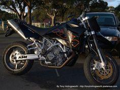 I love this bike. KTM Supermoto 950 SM