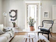 Een klein appartement in Zweden vol inspiratie (via Bloglovin.com )
