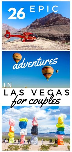 26 Epic Adventures in Las Vegas for couples Looking for the best things to do in Las Vegas? This list will help you plan the perfect trip to Vegas. It's got all the glam of the Strip, natural wonders & unique attractions. Las Vegas Restaurants, Las Vegas Hotels, Las Vegas Vacation, Las Vegas Nevada, Vegas Fun, Las Vegas Eats, Las Vegas Travel Guide, Moving To Las Vegas, Visit Las Vegas