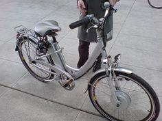 A nice electric bike.