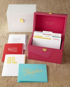 All Occasion Card Box - Horchow