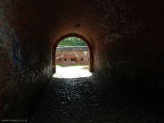 mury w Twierdzy Boyen